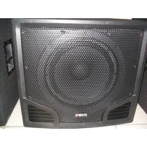 Subwoofer Amplificado/plastificado Mrs 350w