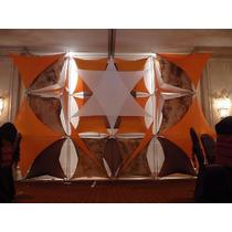 Telas Spandex Decorativas Para Estudios.dj. Sonidos. Bocinas