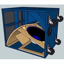 Planos Para Bafle Turbo Sound Poderoso Mejor Que Cerwin ¡