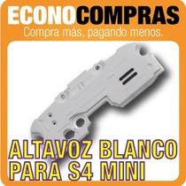 Bocina Altavoz Blanco Para Galaxy S4 Mini 100% Nuevo!!!!!!!!