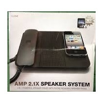 Amp 2.1x Speaker System For Iphone, Ipad, Ipod, Samsung..!!!