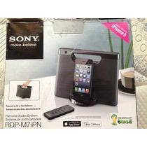 Speaker Dock Sony Rdpm7ip Para Ipod / Iphone