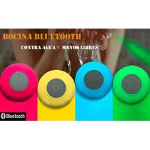 Bocina Bluetooth Manos Libres Mini Contra Agua Recargable
