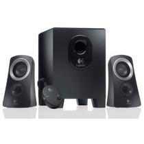 Bocinas Logitech Z313 Stereo 2.1 980-000401 Nuevas Factura!