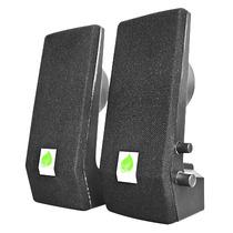 Bocinas Multimedia Con Amplificador Ultradelgada 18-9206