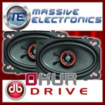 Set De Bocinas 4 X 6 Db Drive Okur S3 46 200w Medios Dpa
