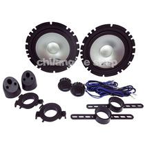 Set De Medios Alpine Sxe-1750s 280w 45rms ¡mejora El Sonido!
