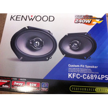 Bocinas 6x8, 5x7 Kenwood Kfc-c6894 Ps 240 Watts 3 Vias