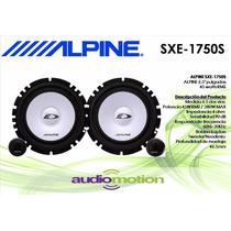 Bocinas Alpine 6.5 Tweeter Sxe-1750s 280w Jetta Seat Ford
