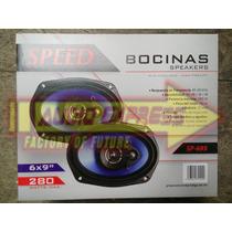 Jgo De Bocinas Speed 6 X 9 Sp695 280 Watts