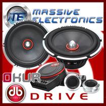 Set De Medios 6.5 Db Drive S9 6c Okur 90wrms 400w + Q S3 S5