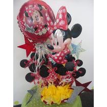 Centros De Mesa Infantiles Mimi, Minnie Mousse, $150
