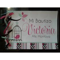 Álbum De Firmas Económico Con Pluma Baby Bautizo Comunion