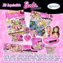 Kit Imprimible Barbie Fashionista Tarjetas Invitaciones