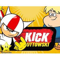 Kit Imprimible Doble De Riesgo Kick Buttowski Diseñá 2x1