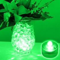 Led Verde Sumergible Para Decoracion De Centro D Mesas + Per