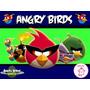 Kit Imprimible Angry Birds Candy Bar Golosinas Invitacion #1
