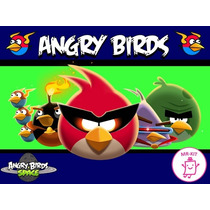 Kit Imprimible Angry Birds Candy Bar Golosinas Invitacion #1