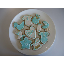 Lindas Y Deliciosas Galletas Decoradas Baby Shower, Bautizo