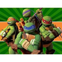 Kit Imprimible Tortugas Ninjas Diseña Tarjetas Invitacion #1