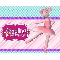 Kit Imprimible Angelina Ballerina Diseñá Tarjetas Cumpl 2x1