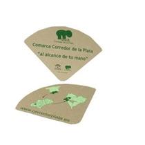 Abanicos Personalizados Impresos A Una Tinta Paq 100 Pzas