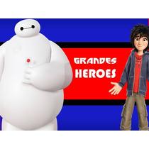 Kit Imprimible 6 Grandes Heroes Diseñá Tarjetas Cumples #2