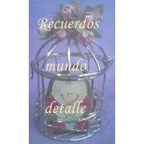 Jaulas Decorativas Mini Recuerdos Boda Detalle Dulces