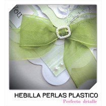 25 Hebillas Para Liston Decoracion Cajas Invitaciones Etc