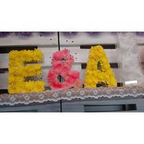 Letras En Acrilico Decorativas Para Flores