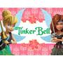 Kit Imprimible Tinker Bell Campanita Tarjetas ,cumples 2x1