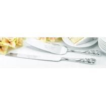 Set Cuchillos Para Boda Diseño Corazones Pedrería