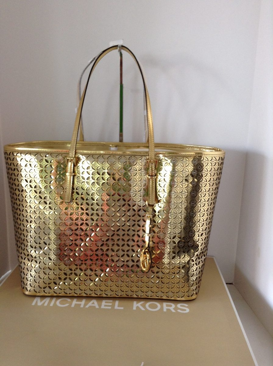 Bolsa De Mao Michael Kors Original : Bolsa michael kors mk travel perforated original car