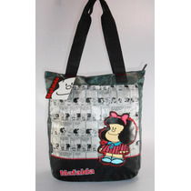 Hermosa Bolsa Mafalda, Quino Escolar Chenson Original Fn4