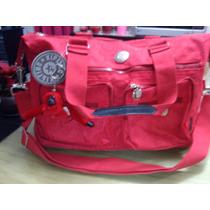 Bolsa Para Dama Kipling Color Rojo