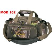 Bolso Camo Cabelas Cacería Y Tiro Pistola Escopeta Gear Bag