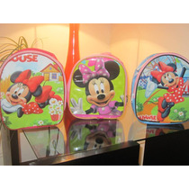 Lote 10 Mochilas Dulceros Minnie Mouse Mimi