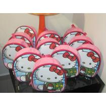Lote 10 Mochilas Dulceros Hello Kitty