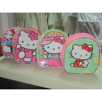 Lote 10 Mochilas Dulceros Hello Kitty