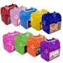 5 Loncheras De Plastico Personalizadas Etiqueta Plastificada