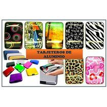 Tarjetero Aluma Wallet Varios Diseños !