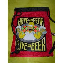 Simpsons Morrales Originales Cerveza Botella Duff De Homero