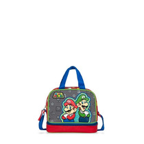 Lonchera Niño Kinder Super Mario Bros. Team Mod. Mb60693-r