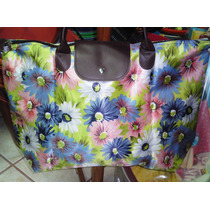 Bolsa Casual Plegable, Colores Vivos Y Elegantes