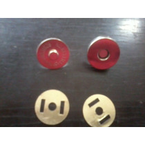 Botón De Presión Magnético Lote De 10