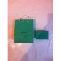 Caja Con Bolsa Tiffany