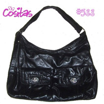 Bolsa Casual En Color Negro ~ #533