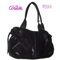 Bolsa Casual En Color Vino ~ #534