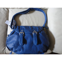 Bolsa Marca Bueno Color Azul Cobalto Daa
