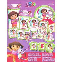 Dora La Exploradora Lonchera De Carton Y Todo Para Tu Fiesta